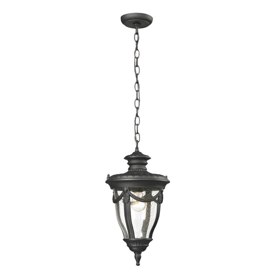 Westmore Lighting Cheshire 16-in Hazelnut Bronze Outdoor Pendant Light