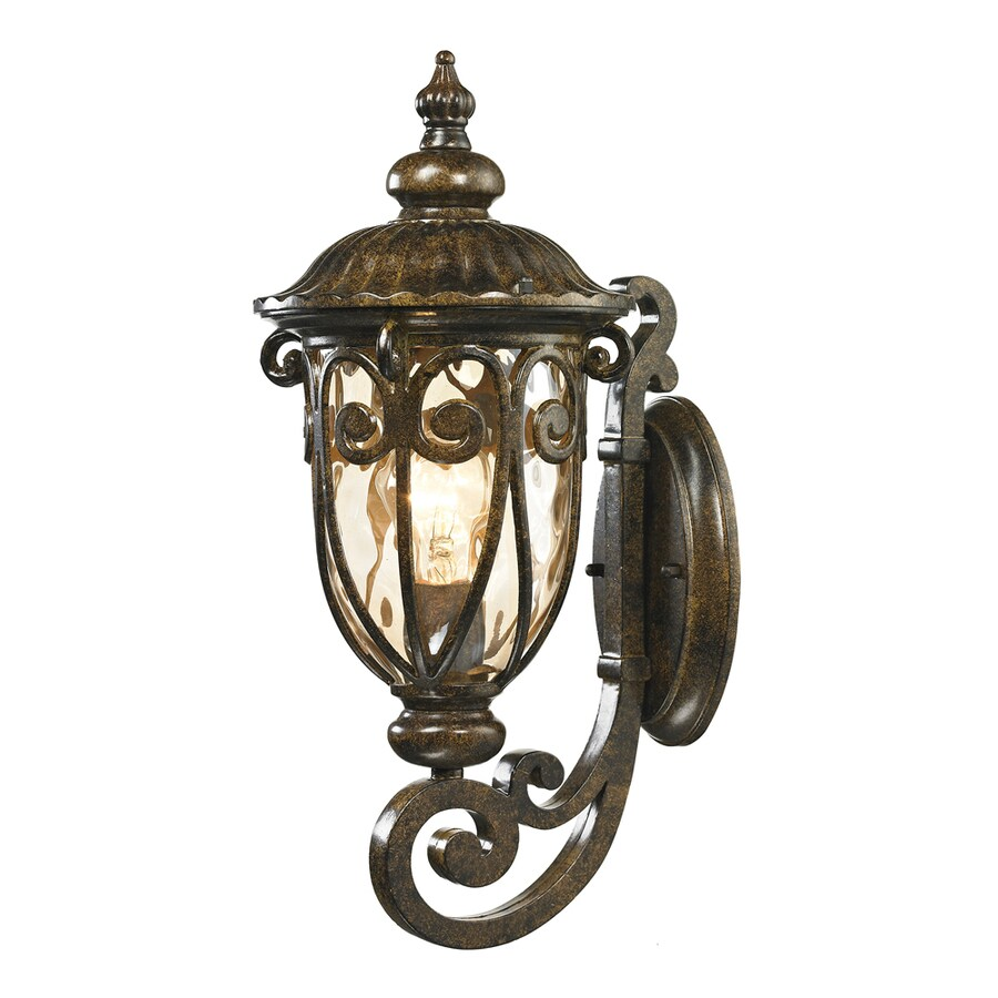 Westmore Lighting Bingley 18-in H Hazelnut Bronze Outdoor Wall Light