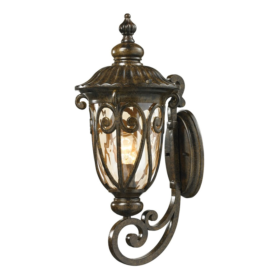 Westmore Lighting Bingley 22-in H Hazelnut Bronze Outdoor Wall Light