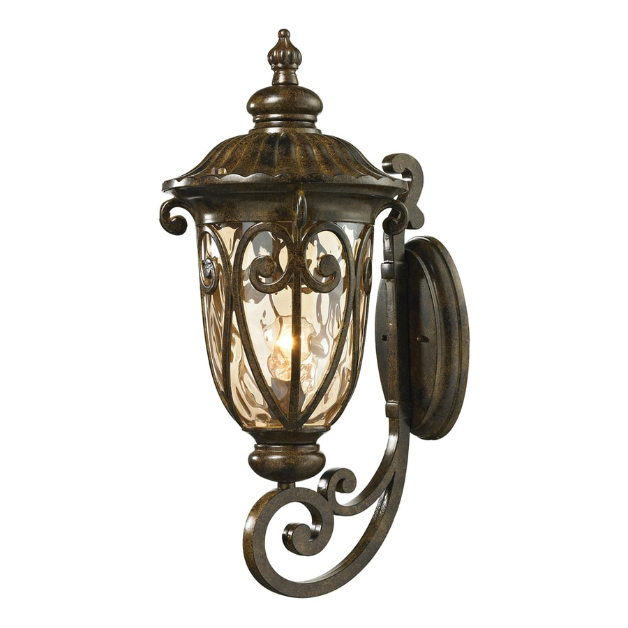 Westmore Lighting Bingley 24-in H Hazelnut Bronze Outdoor Wall Light
