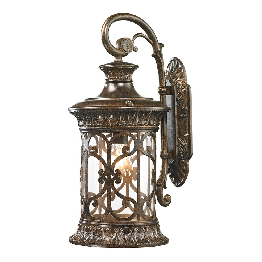 Westmore Lighting Cosette 21-in H Hazelnut Bronze Outdoor Wall Light