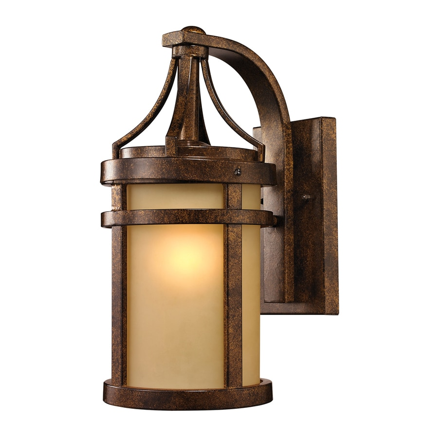 Westmore Lighting Tiburon 16-in H Hazelnut Bronze Outdoor Wall Light