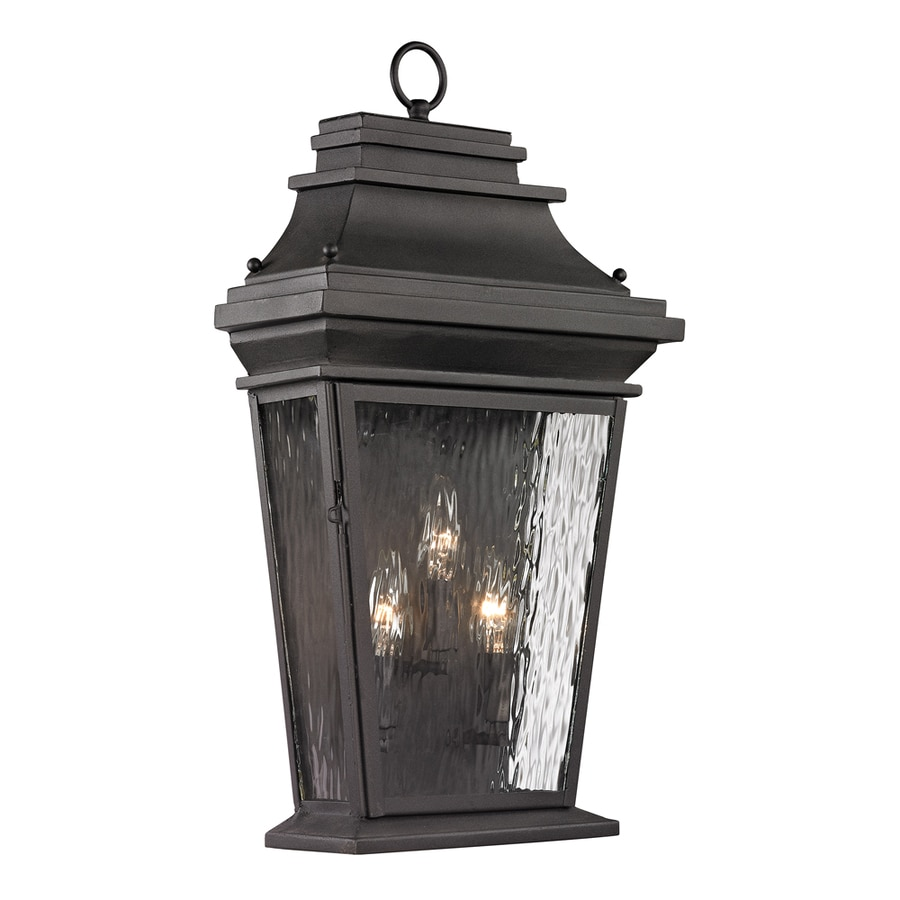 Barn Light Charcoal: Westmore Lighting Barnstable Forge 22-in H Charcoal