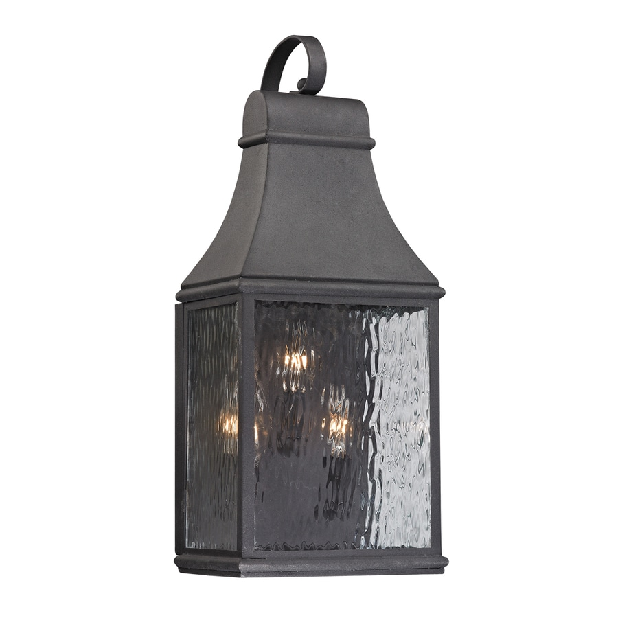 Westmore Lighting Foxborough 22-in H Charcoal Outdoor Wall Light