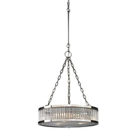 pendant lighting fixture. westmore lighting chelsea 20in polished nickel single drum pendant fixture