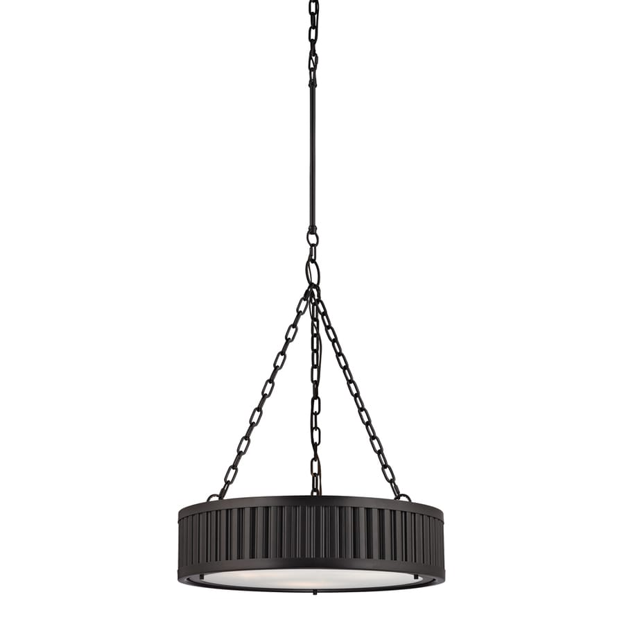Westmore Lighting Chelsea 20-in Oil Rubbed Bronze Single Drum Pendant