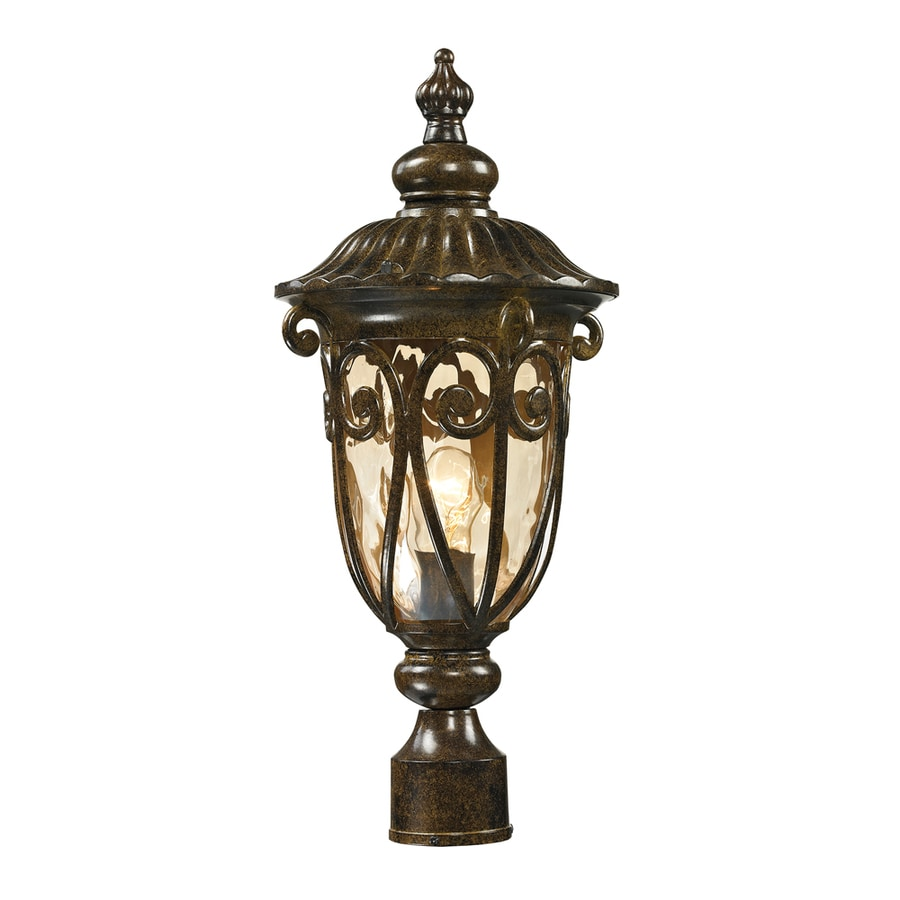 Westmore Lighting Bingley 21-in H Hazelnut Bronze Post Light
