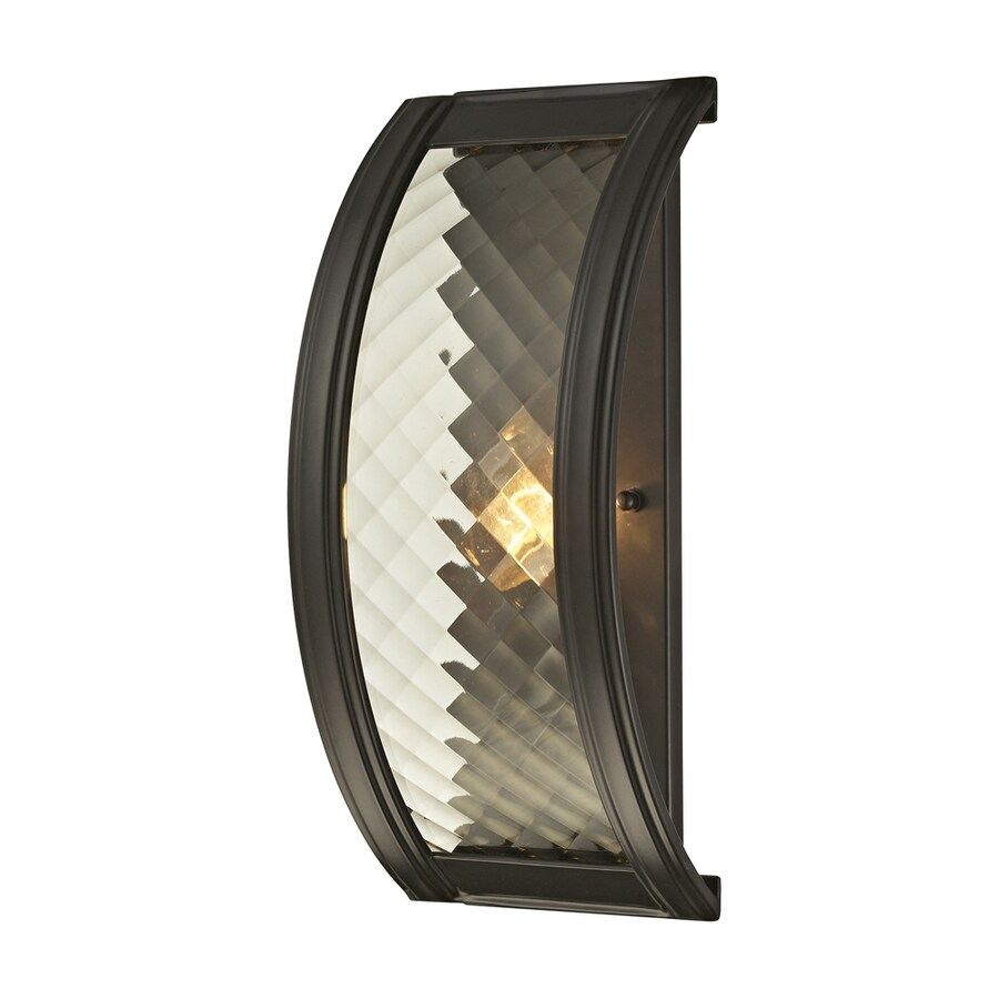 Westmore Lighting Yalding 6-in W 1-Light Oil Rubbed Bronze Candle Wall Sconce
