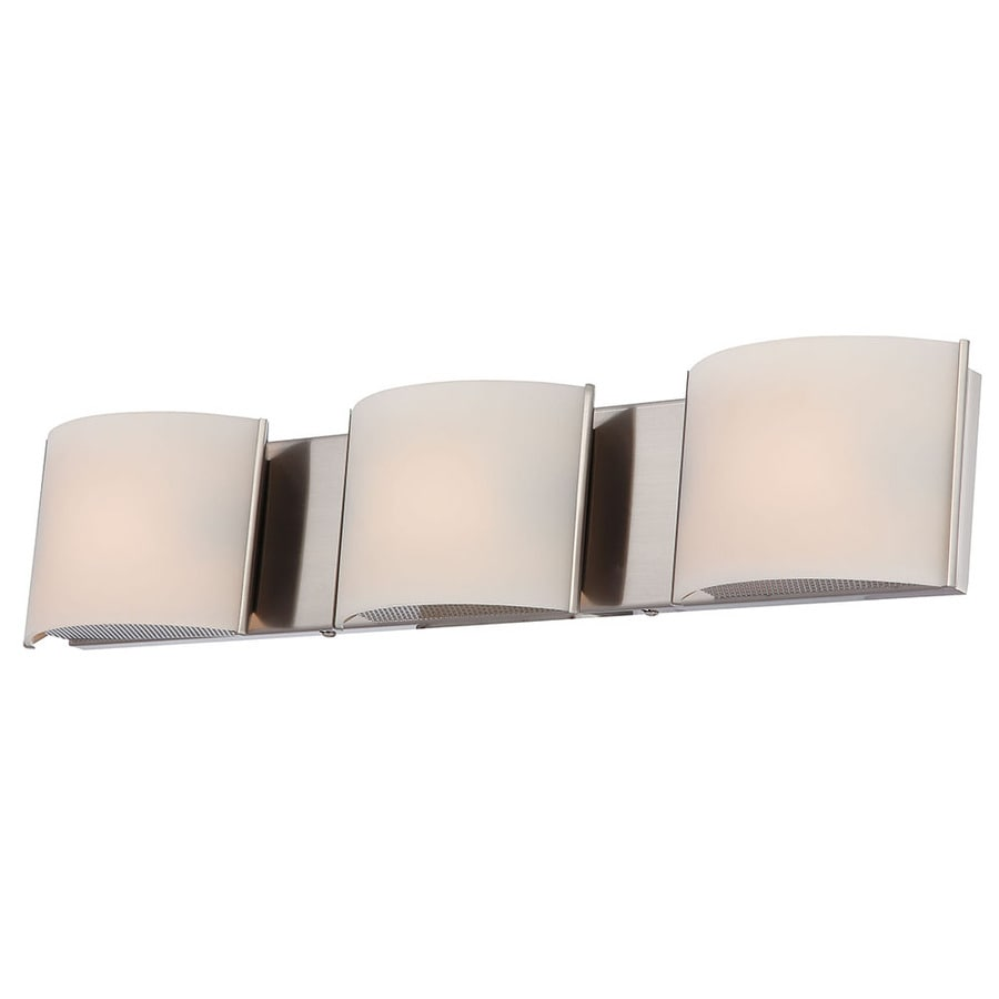 Westmore Lighting Stroud 3-Light 4.88-in Polished Chrome Vanity Light