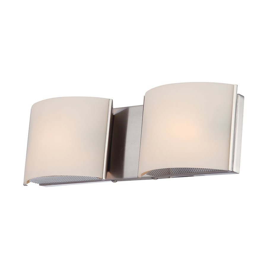 Westmore Lighting Stroud 2-Light 4.88-in Polished Chrome Vanity Light