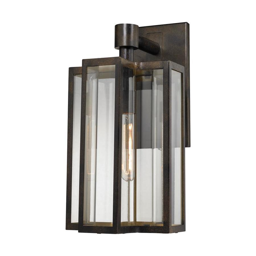 Westmore Lighting Norwood 10-in W 1-Light Hazelnut Bronze