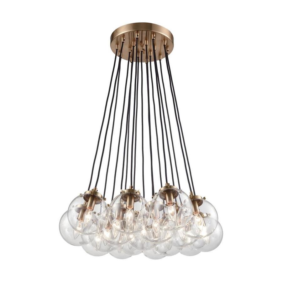 Westmore Lighting Belleville 17-Light Matte Black/Antique