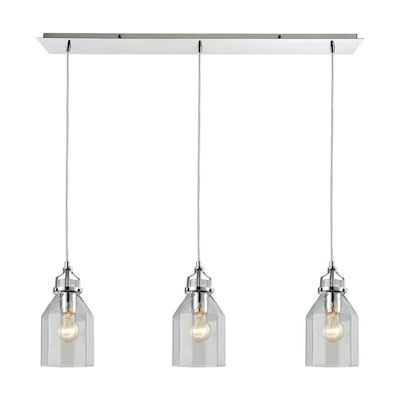 Westmore Lighting Avoche 3 Light 36 0 In Polished Chrome