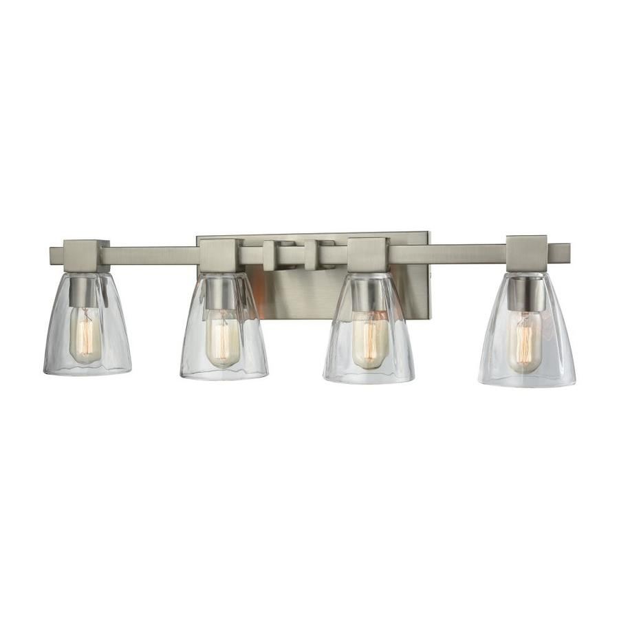 Westmore Lighting Cabot 4 Light 8 0 Satin Nickel Vanity