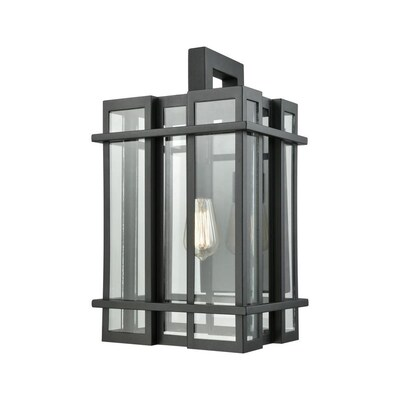 Westmore Lighting Ace 1 Light Outdoor Wall Sconce At Lowes
