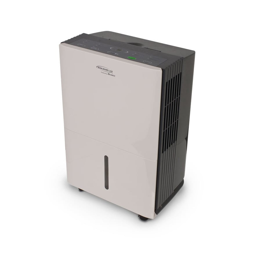 Soleus Powered by Gree 45-Pint 3-Speed Dehumidifier ENERGY STAR