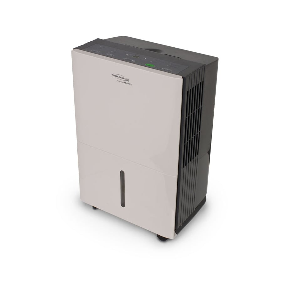 Soleus Powered by Gree 50-Pint 3-Speed Dehumidifier ENERGY STAR