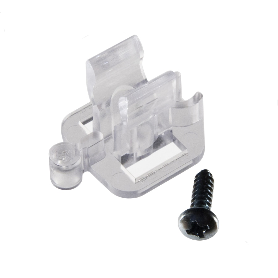 Commercial Christmas Hardware 12-Count Plastic Adhesive Clips