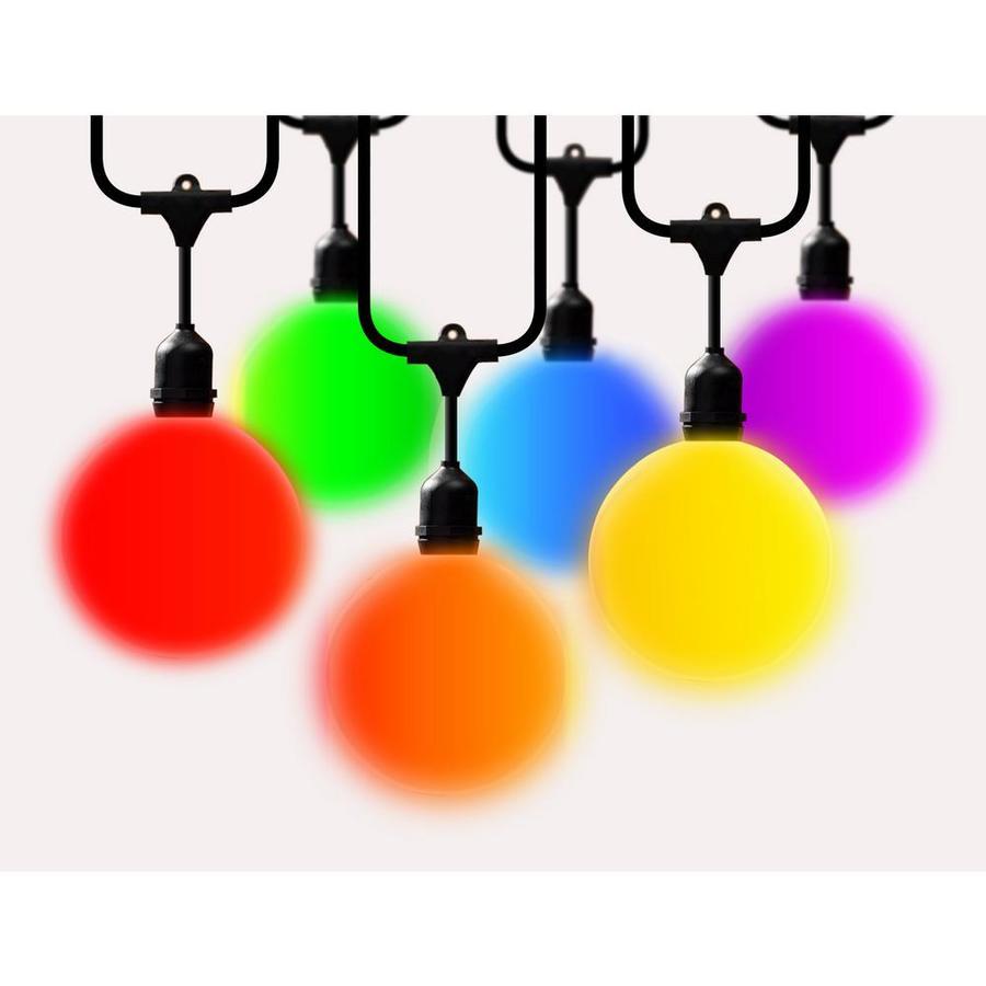 meilo LED G40 Bulb String Light Indoor/Outdoor Multicolor LED Globe String Light Bulbs