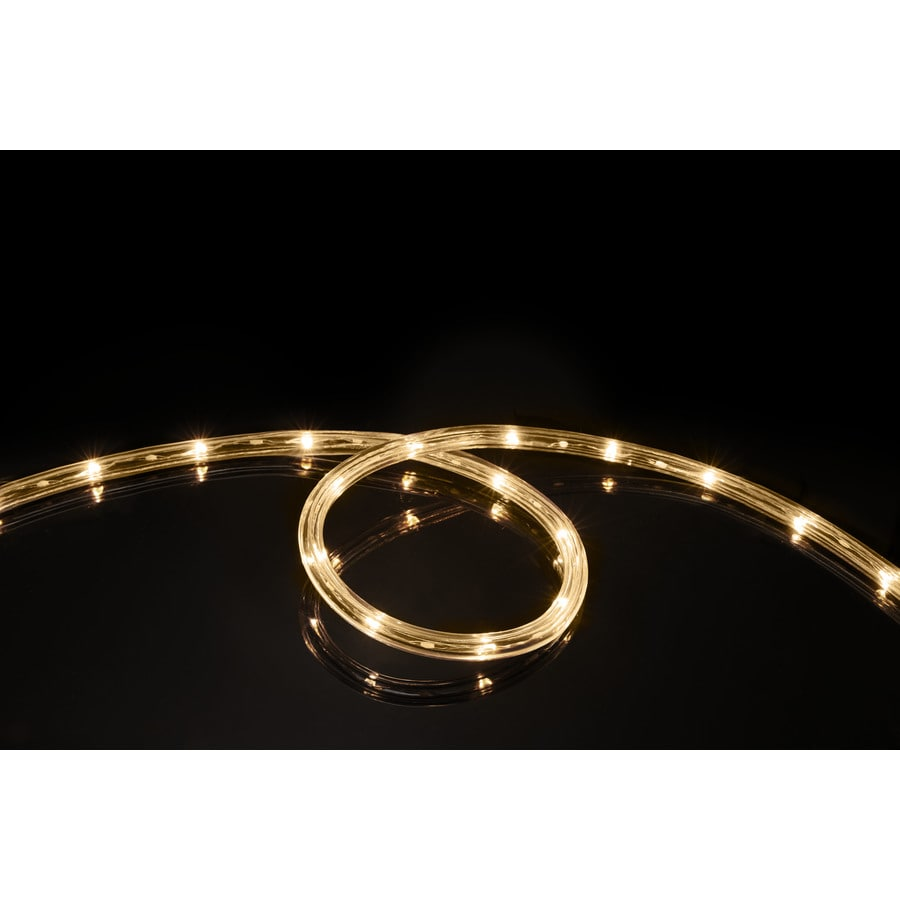 Shop meilo 16 ft led yellow rope light at lowes meilo 16 ft led yellow rope light mozeypictures Gallery