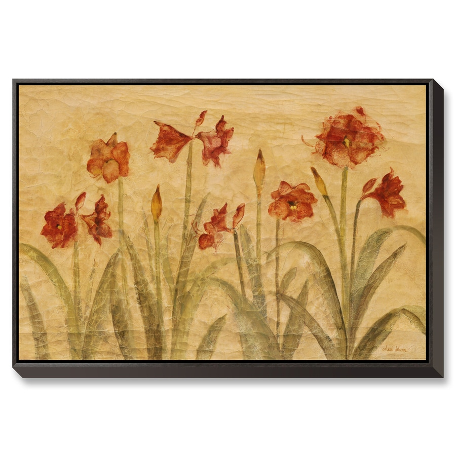 Shop art.com 38-in W x 26-in H Canvas Floral and Botanical Wall Art ...