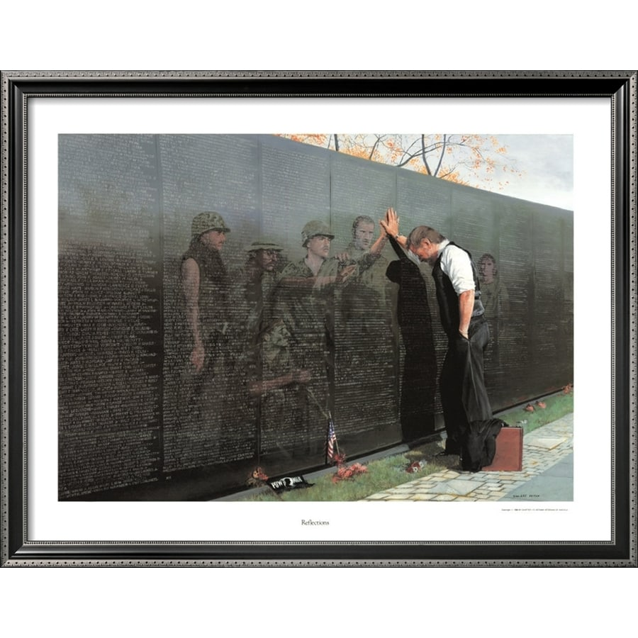 art.com 32-in W x 25-in H Framed Figurative Wall Art