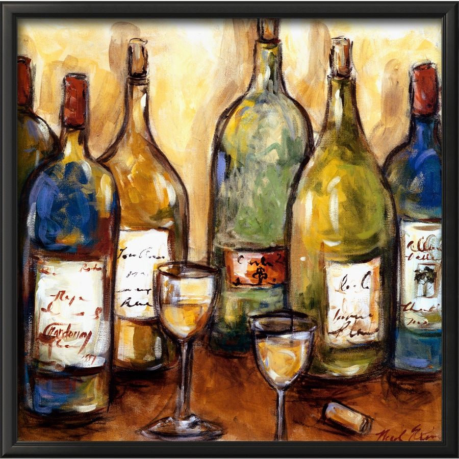 art.com 28-in W x 28-in H Framed Food and Beverage Wall Art