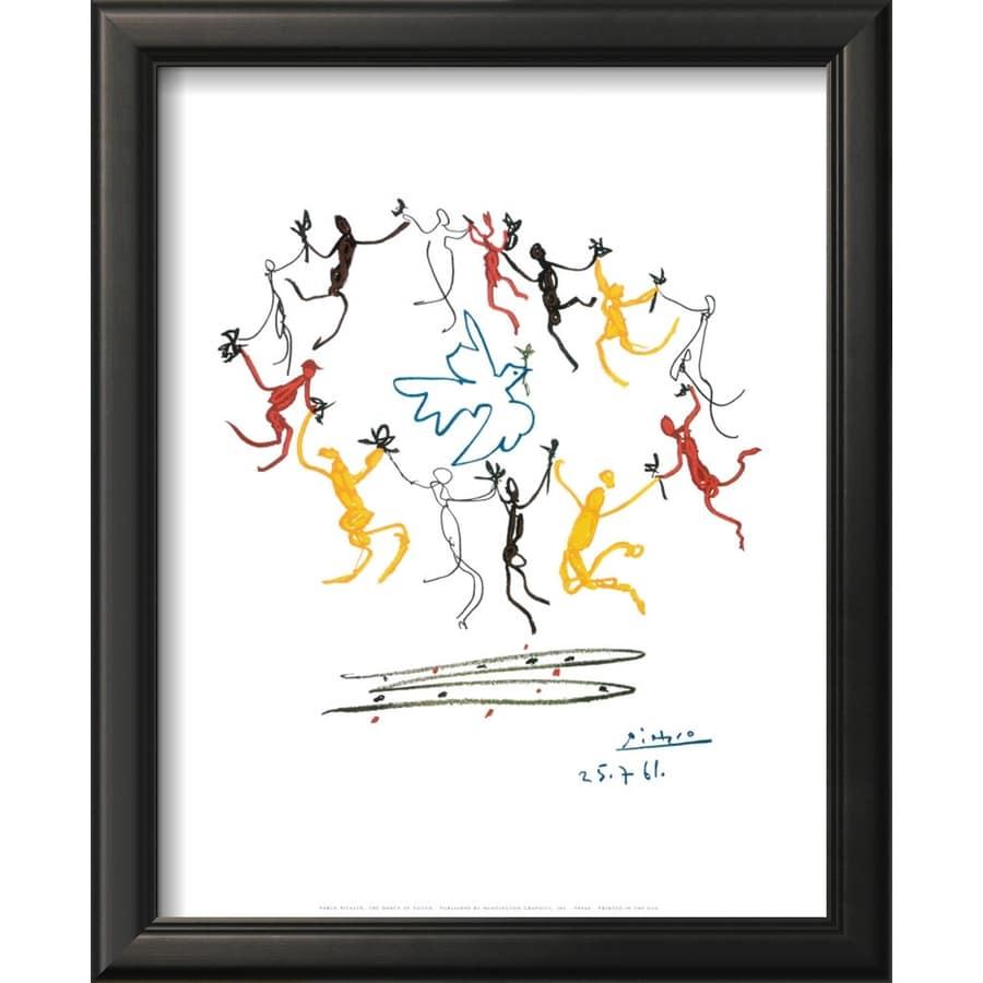 art.com 12-in W x 15-in H Framed Figurative Wall Art