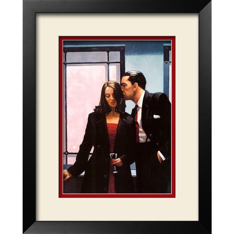 art.com 26-in W x 32-in H Framed Figurative Wall Art