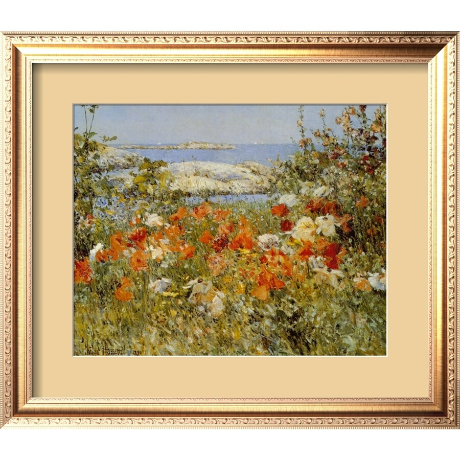 art.com 27-in W x 24-in H Framed Floral and Botanical Wall Art