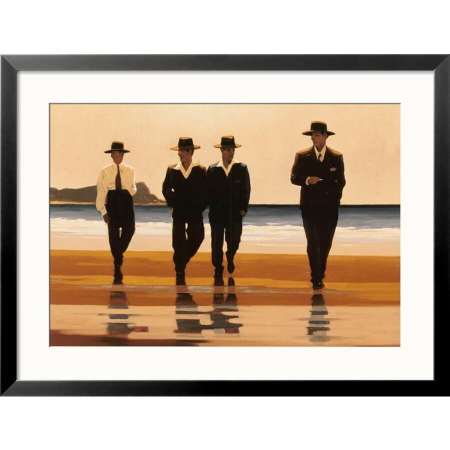 art.com 24-in W x 32-in H Framed Figurative Wall Art