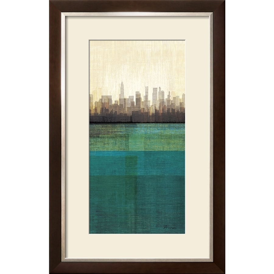 Art com 22 in w x 34 in h framed abstract wall art at lowes com