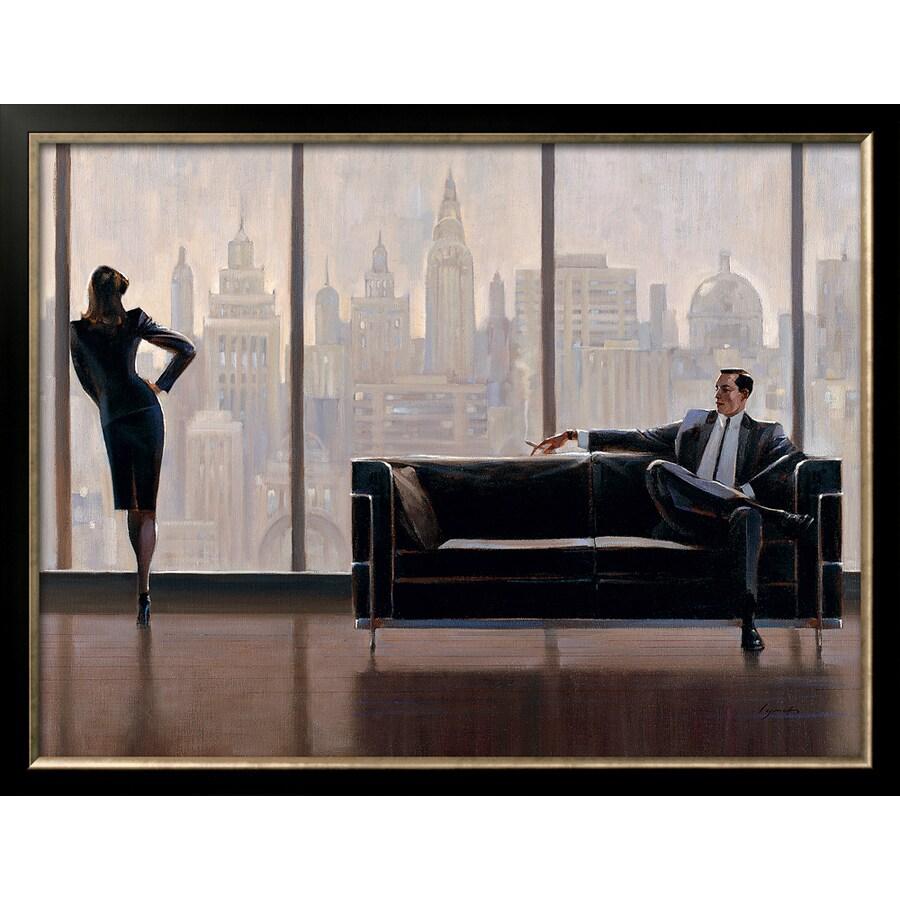 art.com 33.25-in W x 25.375-in H Framed Figurative Wall Art