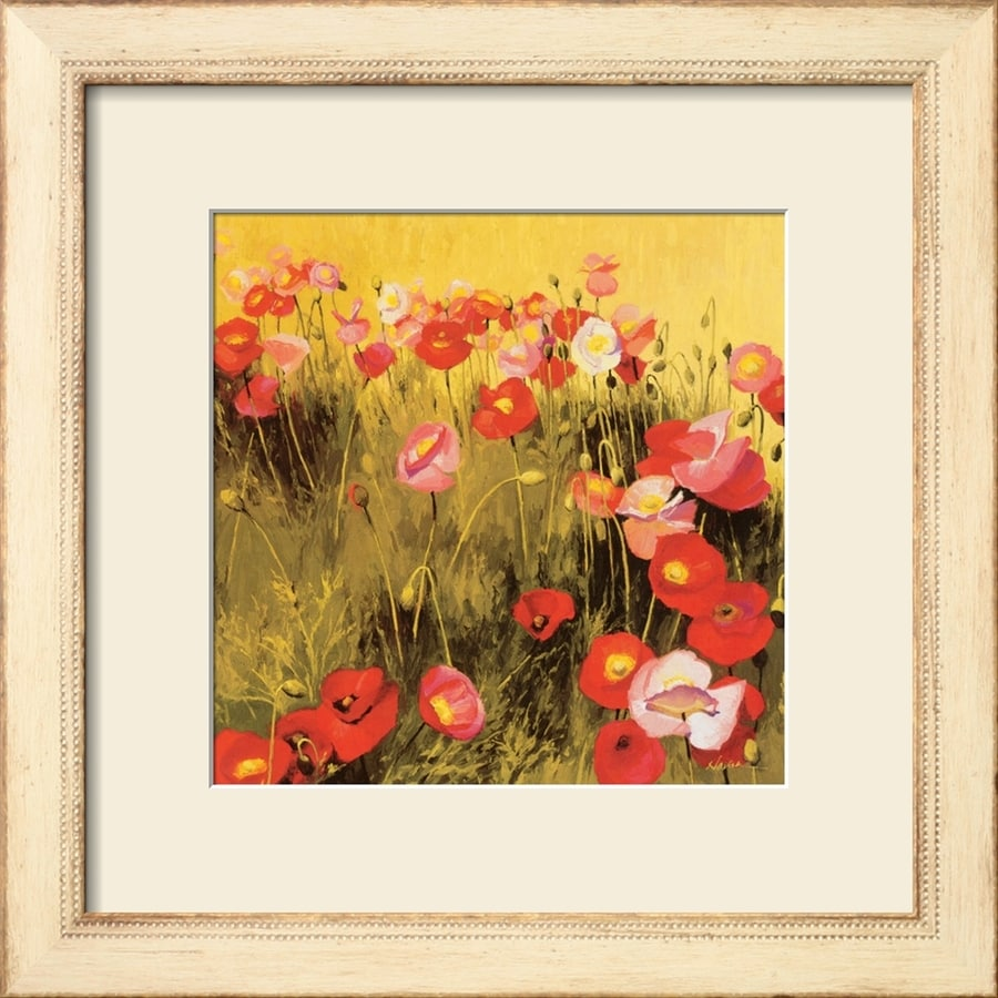 Shop art.com 20-in W x 20-in H Framed Floral and Botanical Wall Art ...