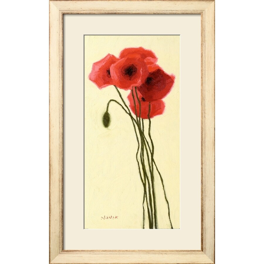 "art.com 20""W x 32""H Floral and Botanical Framed Art Wall Art"