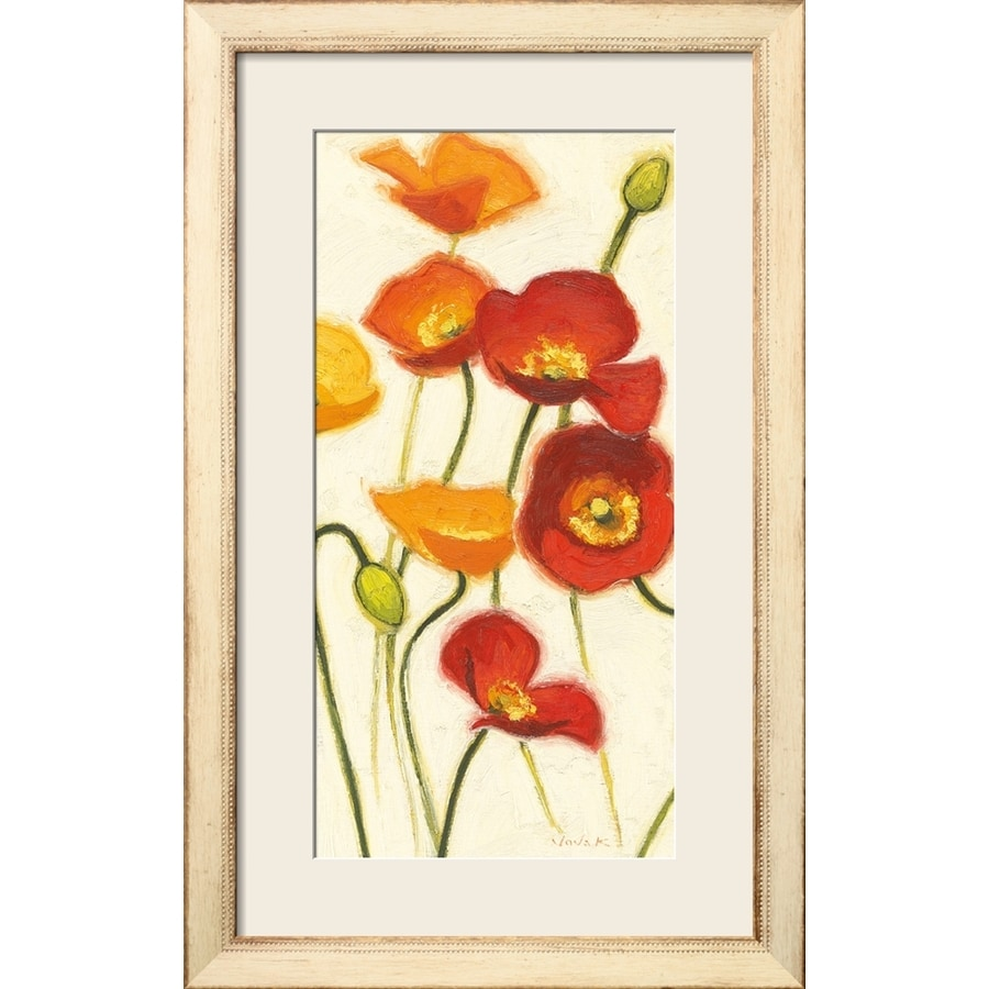 art.com 20-in W x 32-in H Framed Floral and Botanical Wall Art