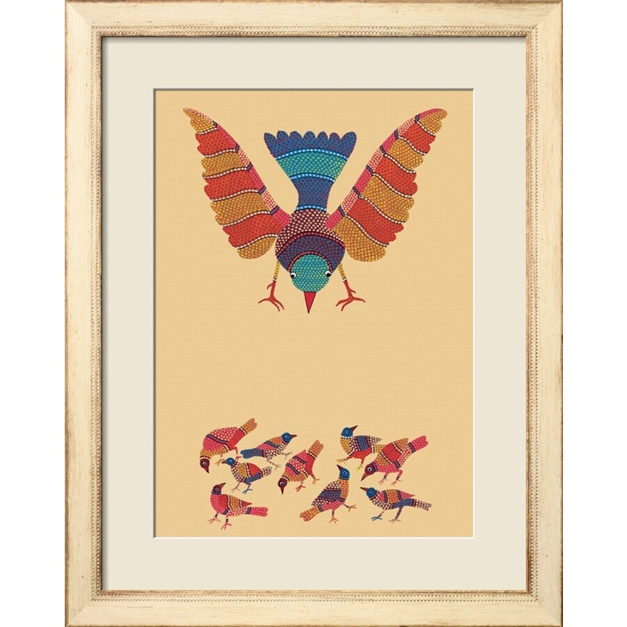 Shop art.com 23-in W x 29-in H Framed Animals Wall Art at Lowes.com