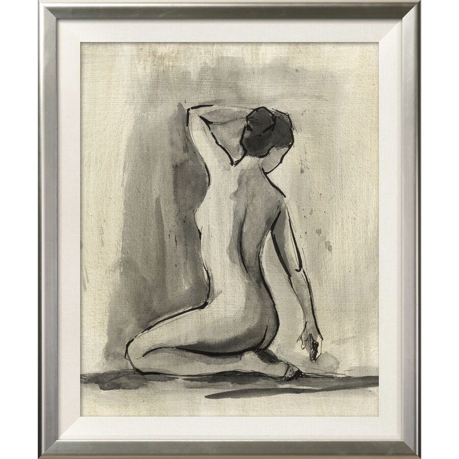 art.com 19.5-in W x 23.5-in H Framed Figurative Wall Art