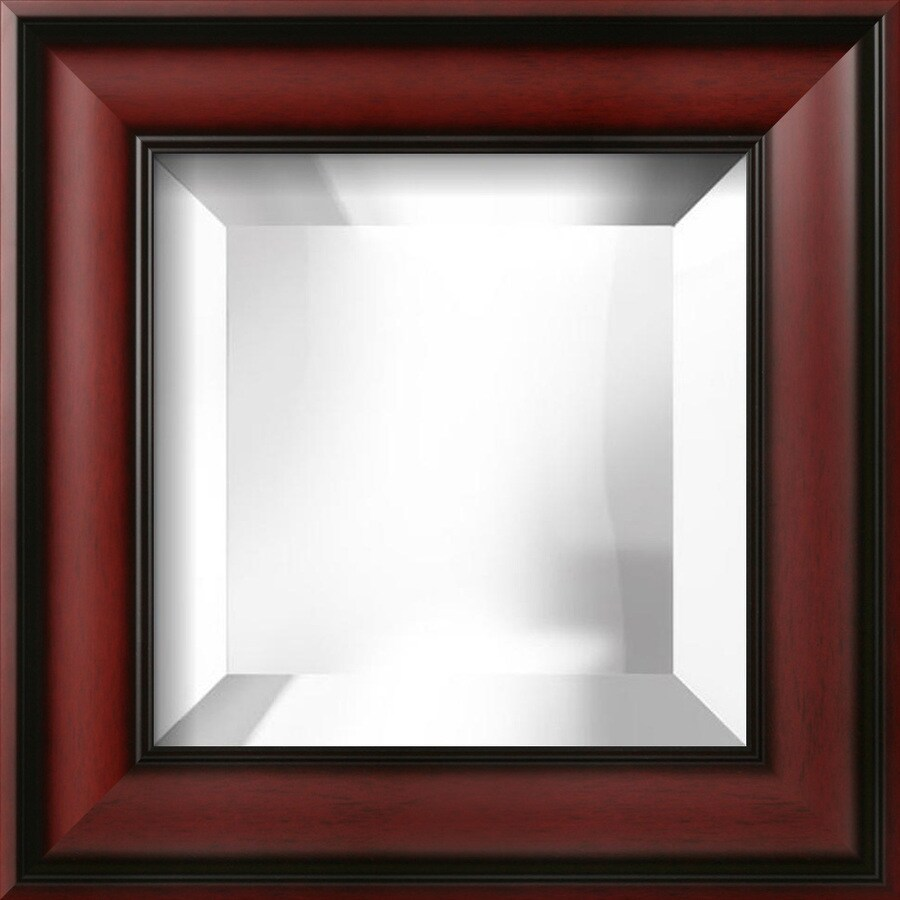 "art.com 15""H x 15""W Square Framed Mirror"
