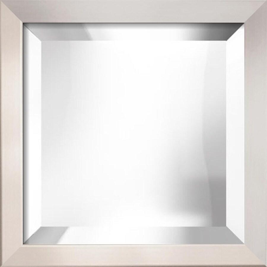 """art.com 14""""H x 14""""W Square Framed Mirror"""