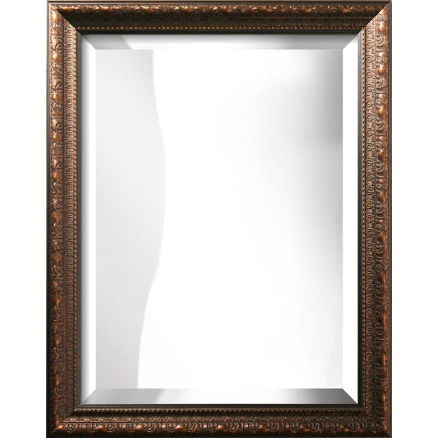 "art.com 28""H x 22""W Rectangle Framed Mirror"