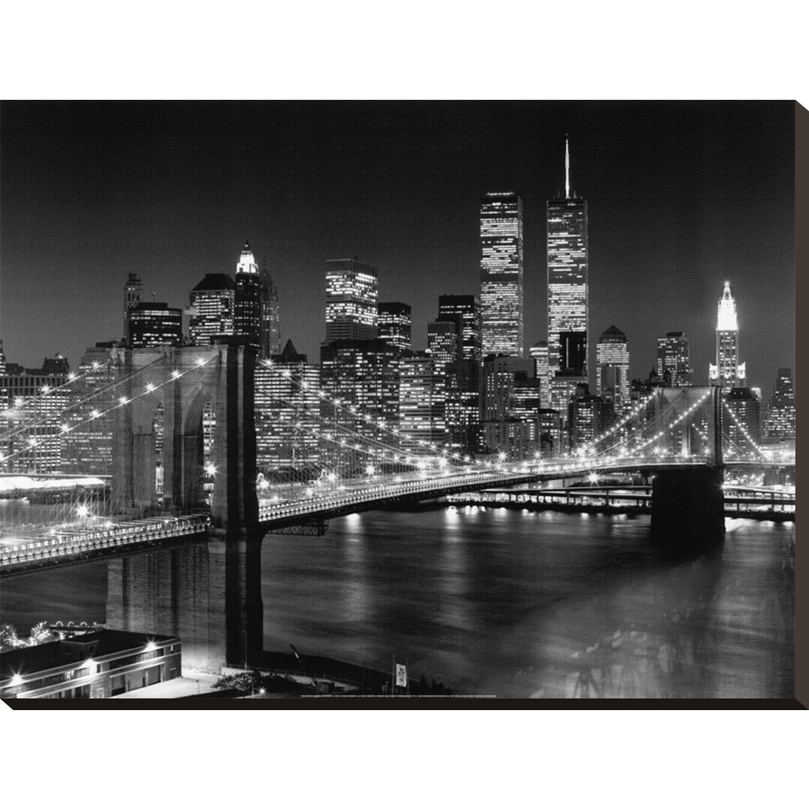 art.com 32-in W x 24-in H Canvas Architecture Wall Art