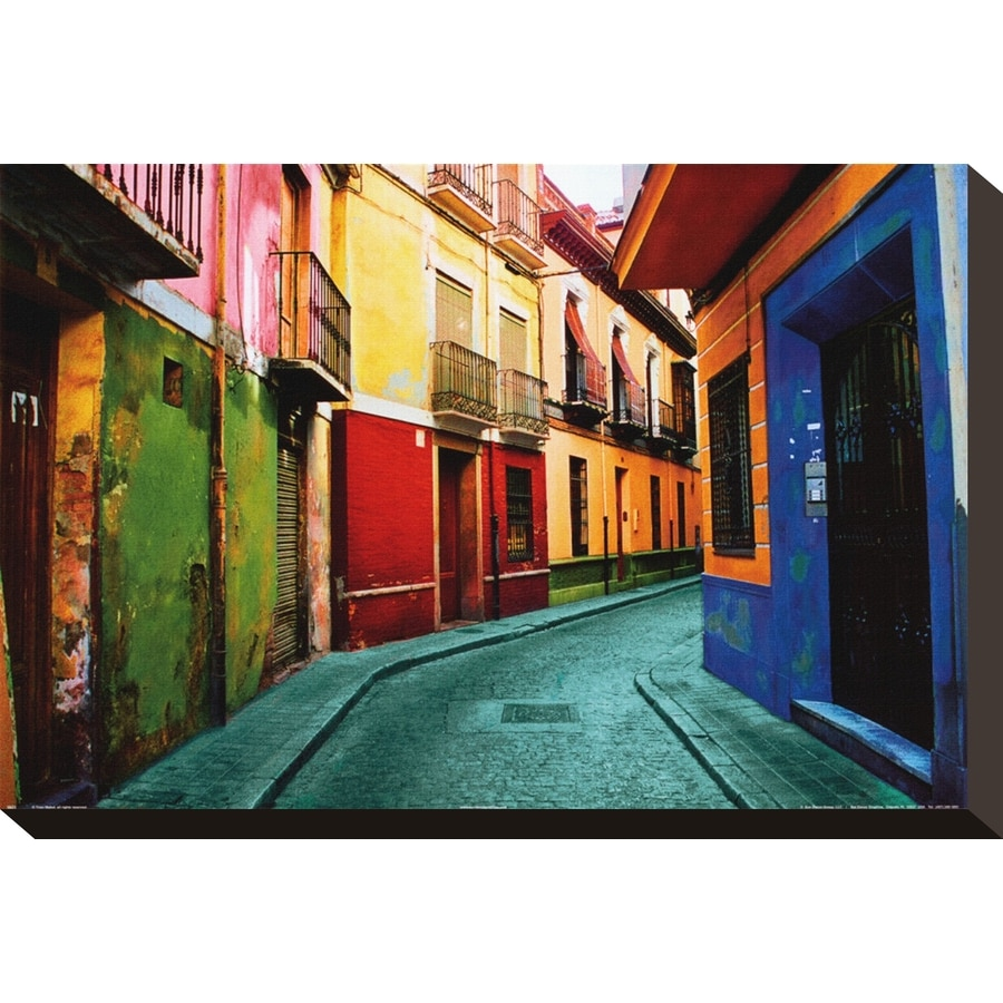art.com 12-in W x 8-in H Canvas Travel Wall Art