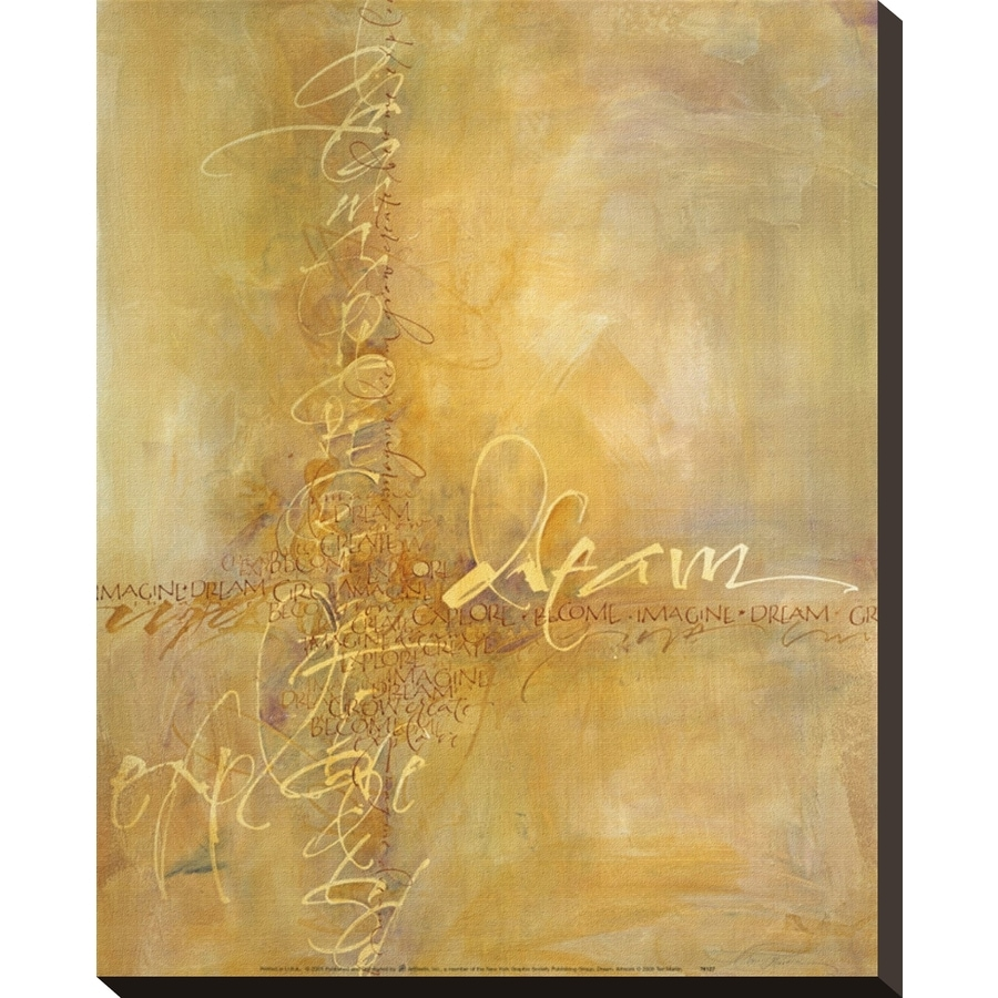 Shop art.com 16-in W x 20-in H Canvas Abstract Wall Art at Lowes.com