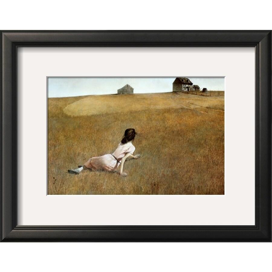 art.com 17.75-in W x 13.75-in H Framed Figurative Wall Art