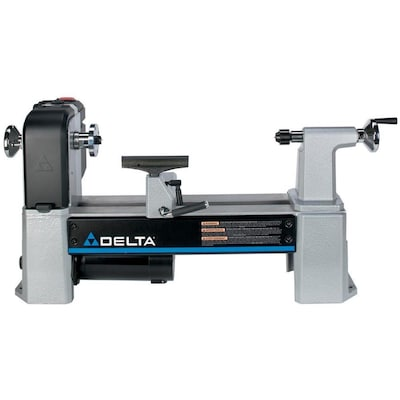 DELTA 21 5-in x 34 5-in Variable Speed Wood Lathe at Lowes com