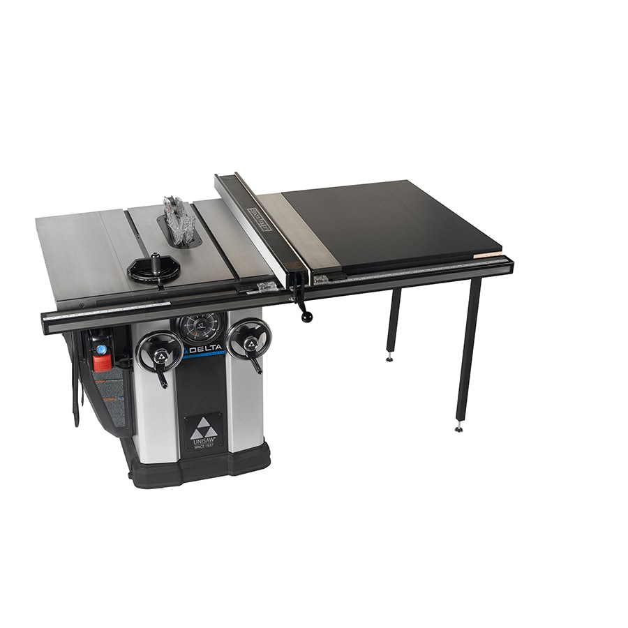 shop delta unisaw 12 4 amp 10 in carbide tipped table saw