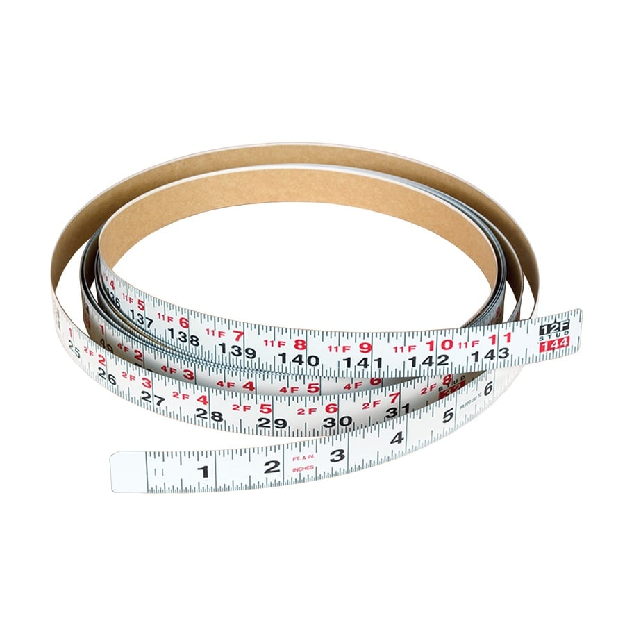 Shop Delta Adhesive Backed Measuring Tape 12 Ft At Lowes Com