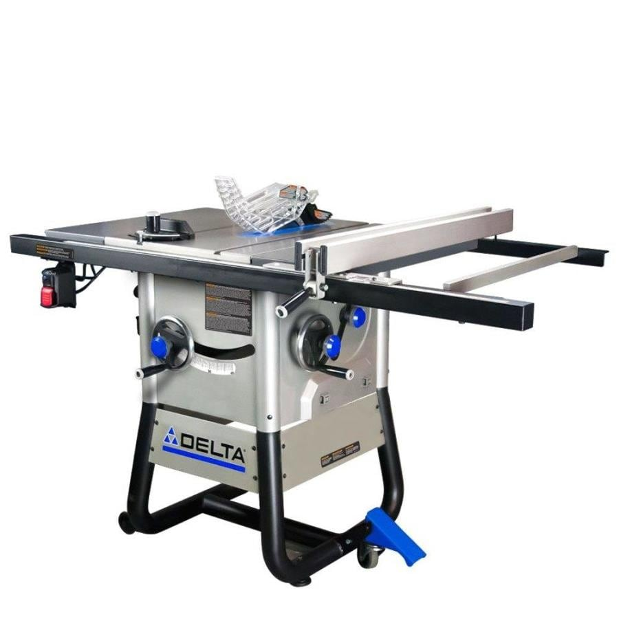 shop delta 13 amp 10 in carbide tipped table saw at