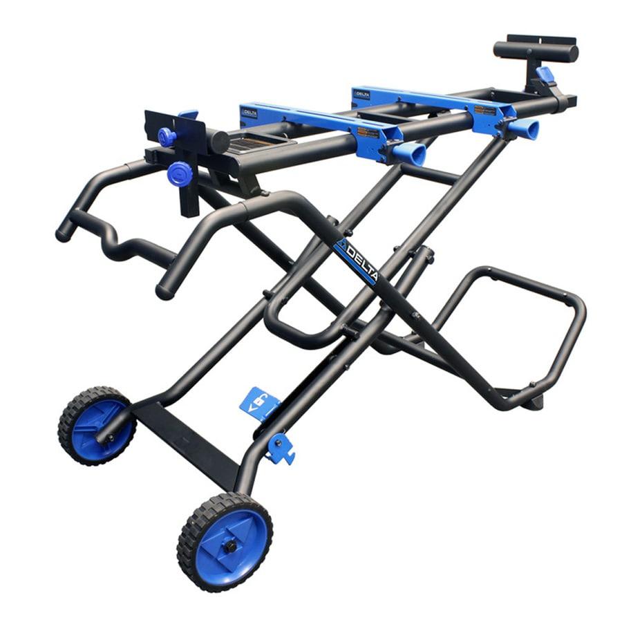 Shop Delta Steel Adjustable Miter Saw Stand At Lowes Com